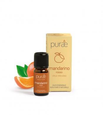 Purae Olio Essenziale Puro di Mandarino Rosso