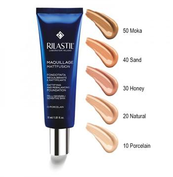 Rilastil Maquillage Matfusion Fondotinta Riequilibrante Effetto