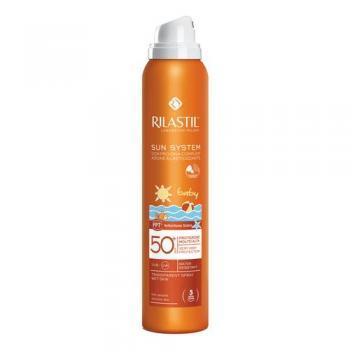 Rilastil Sun System Baby Protezione 50+ Spray Trasparente