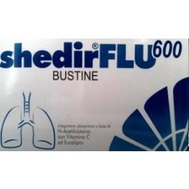 ShedirFlu 600 Integratore Fluidificante Balsamico Bustine