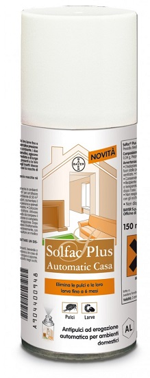 Solfac Plus Spray Casa Anti-Pulci e Larve