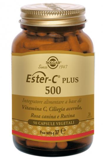 Solgar Ester-C Plus 500 Integratore Vitamina C Capsule