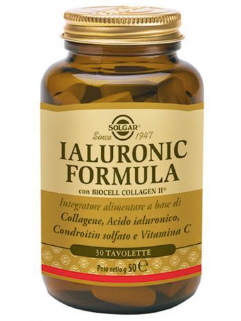 Solgar Ialuronic Formula Integratore Antiossidante Pelle