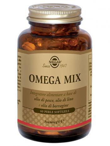 Solgar Omega Mix Integratore Acidi Grassi Perle