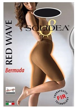 Solidea Red Wave Bermuda Color Noisette