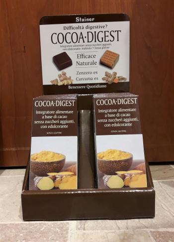 Stainer Cocoa Digest Tavoletta Cioccolato con Zenzero e Curcuma