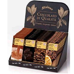 Stainer Tavoletta Cioccolato al Caffè Senza Zucchero e Glutine