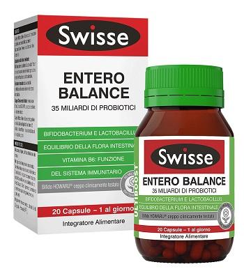 SWISSE Entero Balance Integratore di Probiotici Compresse