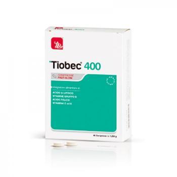 Tiobec 400 Integratore Antiossidante Compresse Fast-Slow