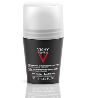 Vichy Homme Deodorante Roll-On Anti-Traspirante 72H